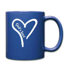 Load image into Gallery viewer, GODS LOVE Mug (colors) - royal blue