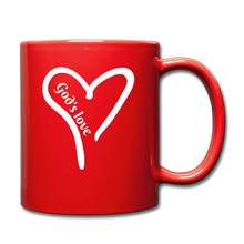 Load image into Gallery viewer, GODS LOVE Mug (colors) - red