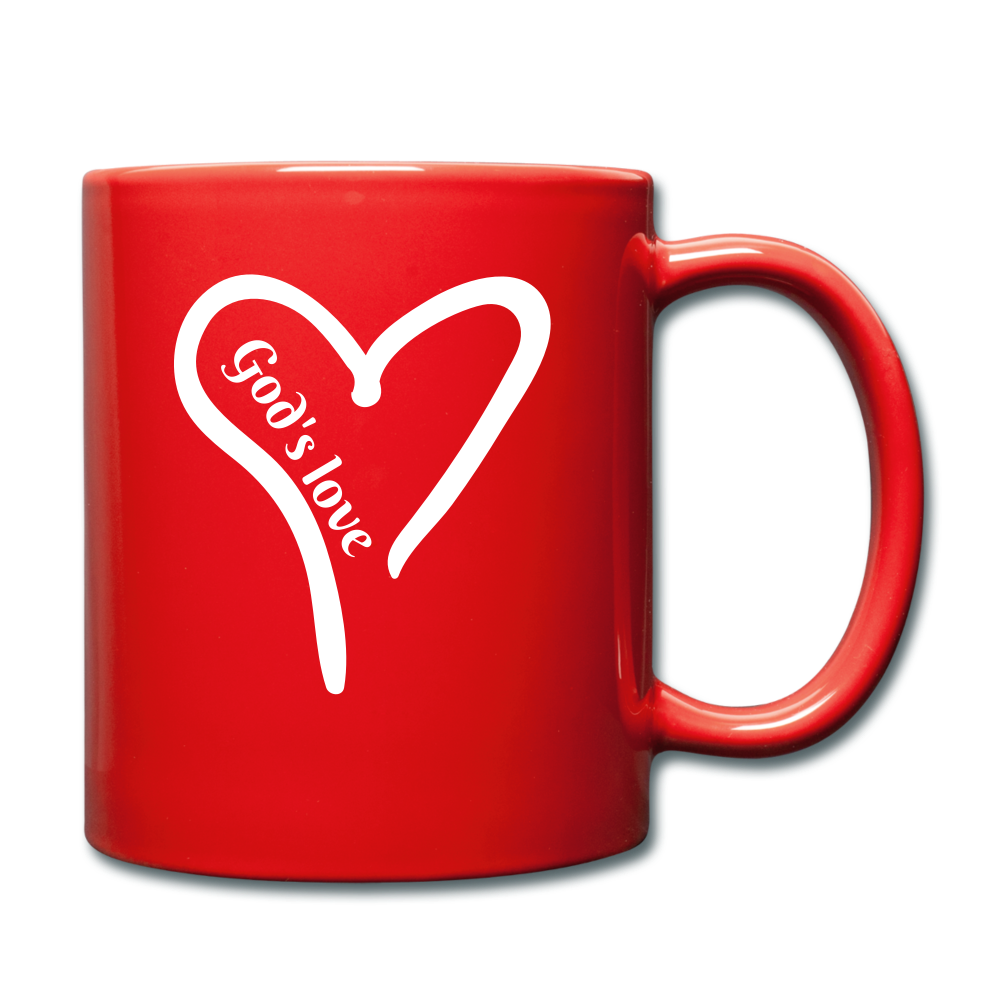 GODS LOVE Mug (colors) - red