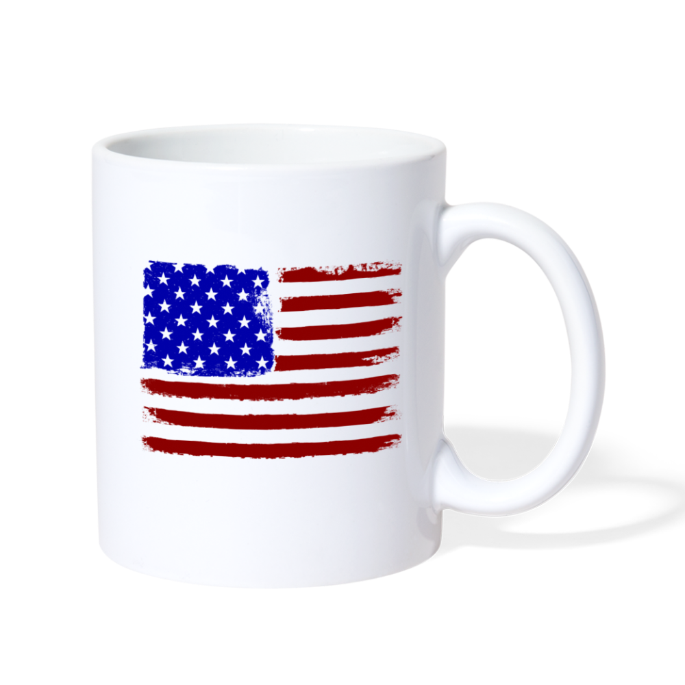 GOD BLESS AMERICA Coffee/Tea Mug - white