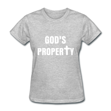 Load image into Gallery viewer, GODS PROPERTY CROSS Women's T-Shirt - heather gray