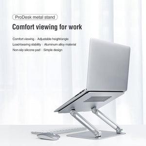 Laptop Stand Aluminum with Heat Release Platform
