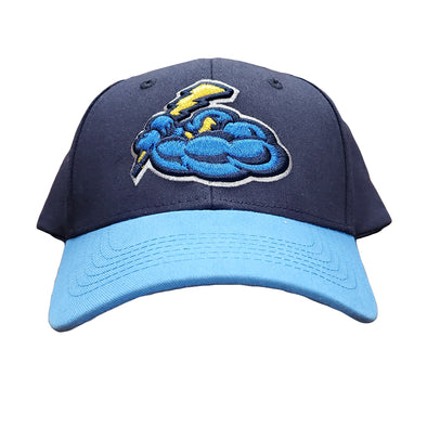 Trenton Thunder Adult Cotton Adjustable Cap - Navy/Sky Blue