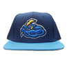 Trenton Thunder Youth Wool Acrylic Adjustable Navy/Sky Blue Snapback