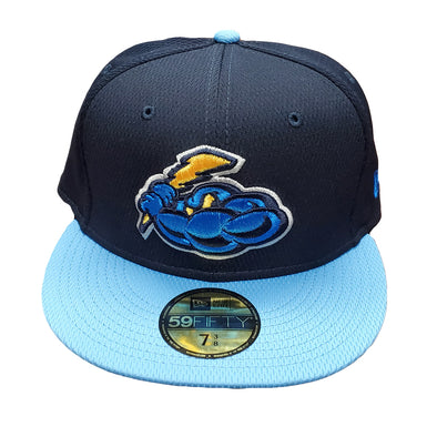 Trenton Thunder Alternate Home and Road 5950 Cap - Navy/Sky Blue