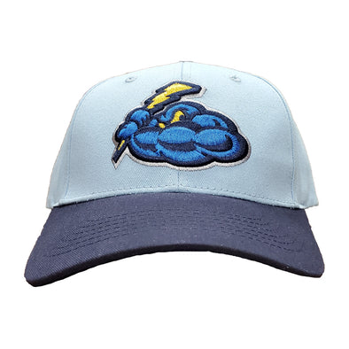 Trenton Thunder Adult Cotton Adjustable Cap - Sky Blue/Navy