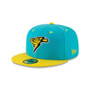 Trenton Thunder Copa America 5950 On-field Vice Blue/Bright Yellow Cap