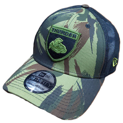 Adult 3930 Camouflage Crest Flex Fit Cap