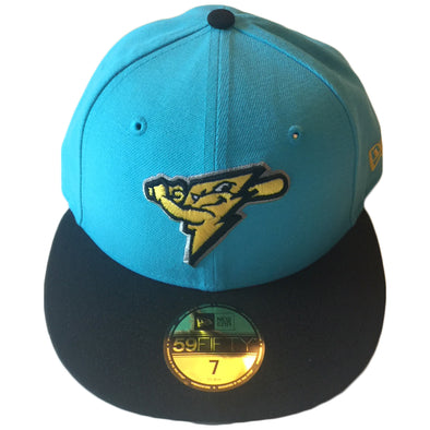 Trenton Thunder NEC 5950 2019 Strike Sky Blue/ Black Fitted Cap