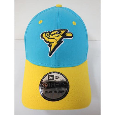 Trenton Thunder Adult 3930 Copa America Vice Blue/Gold Flex Fit Cap