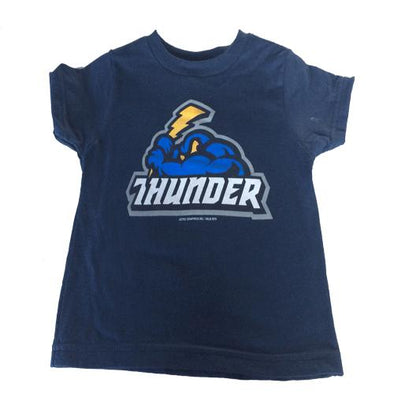 Trenton Thunder Toddler Navy Primary logo T-Shirt