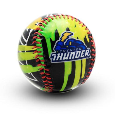 Thunder Paint Drip Baseball