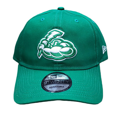 Trenton Thunder Adult Adjustable 920 Kelly Green Cap