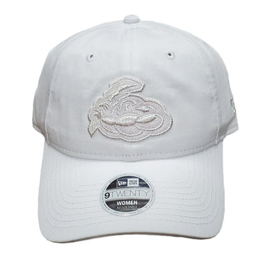 Trenton Thunder Women's Adjustable 920 White Glisten Cap