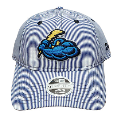 Trenton Thunder Women's Adjustable 920 Preppy Blue Stripe Cap