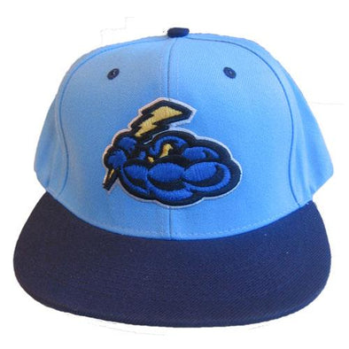 Trenton Thunder Youth Wool/Acrylic Sky Blue/Navy Snapback Cap