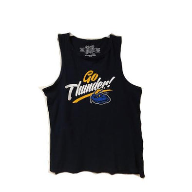 Trenton Thunder Women's Go Thunder Navy Tank Top