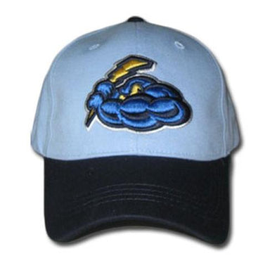 Trenton Thunder Youth Cotton Adjustable Cap - Sky Blue/Navy