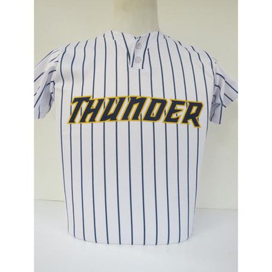 Trenton Thunder Youth Home Replica Jersey - 2 button pullover style