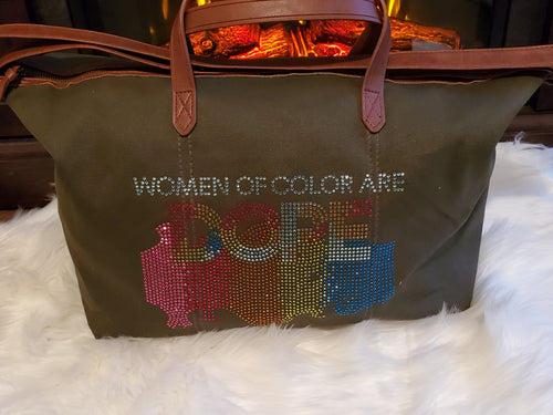 Women of Color Tote Bag