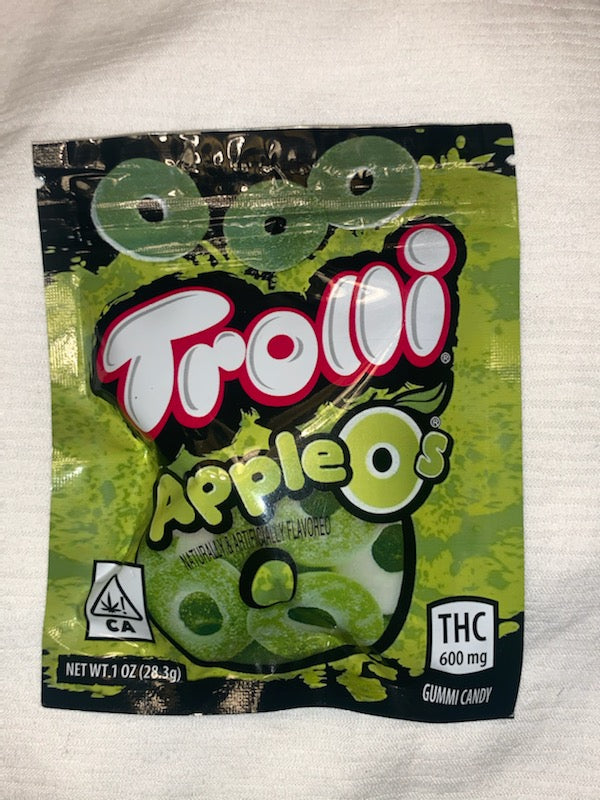 600mg Apple O's Gummies