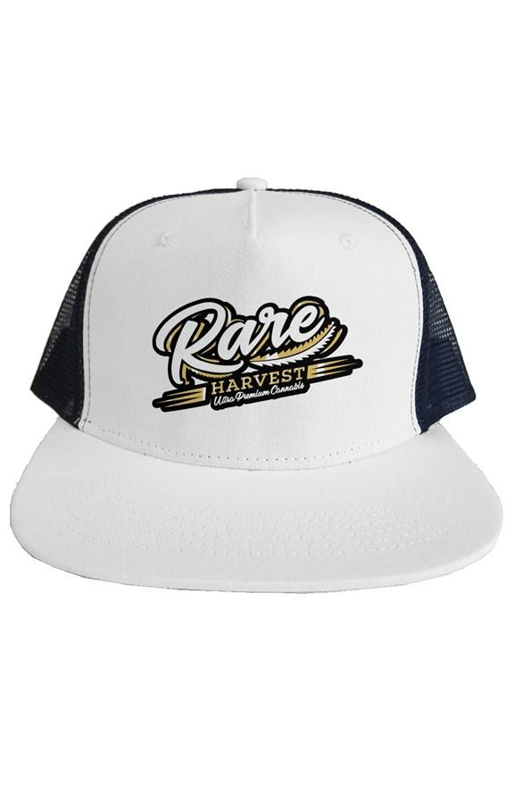 Rare Harvest Premium Trucker Hat White