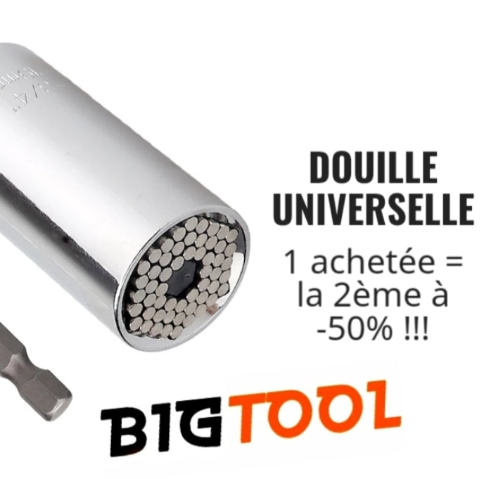 Douille universelle multifonctions