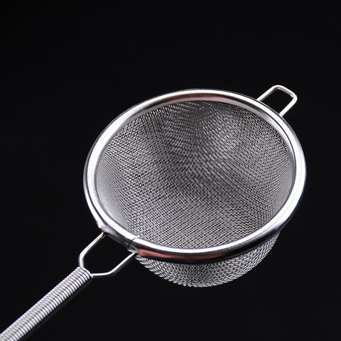 Double stainless steel tea drain strainer - KosmoBlue