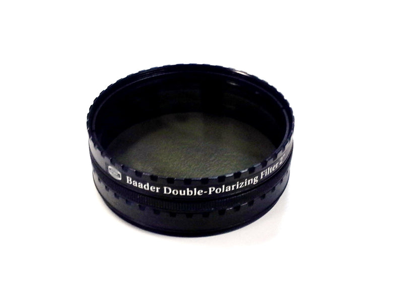 BAADER DOUBLE POLARISING FILTER with ROTATING CELL MOUNT 2""