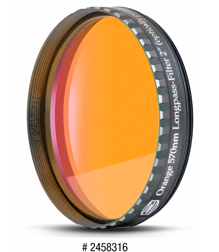 "BAADER EYEPIECE FILTER ORANGE 2"" (570nm)"