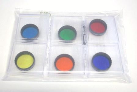 EYEPIECE FILTER SET 1.25""