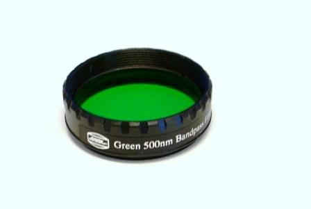EYEPIECE FILTER GREEN 1.25""