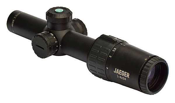 YUKON JAEGER 1-4x24 X01i RETICLE