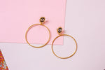 Dani Grande Hoop Earrings