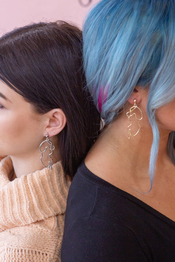 The Feminist Earrings