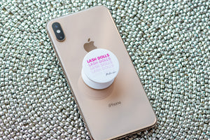 Retro Lash Dolls Pop Socket