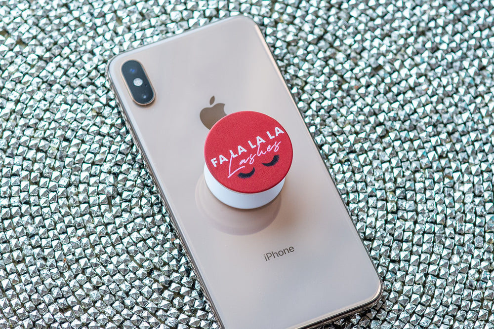 Fa La La La Lashes Pop Socket