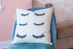Eyelash Pillow Cover