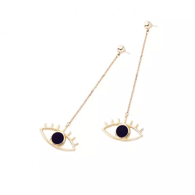 Floating Eye Earrings
