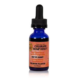 Colorado Hemp Honey – CBD Pet Tincture with Propolis (500mg CBD)