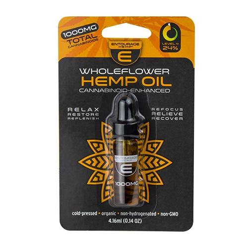 Entourage – WholeFlower Hemp Oil 4.16ml (500-1000mg CBD)