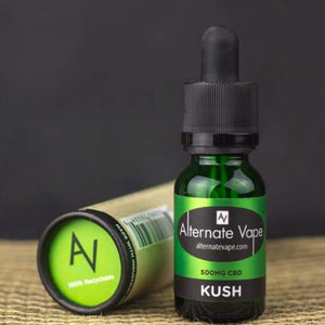 Alternate Vape – CBD Vape Oil 15ml (500mg CBD)