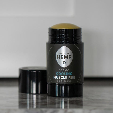 Made By Hemp – Cooling CBD Salve (500mg CBD)