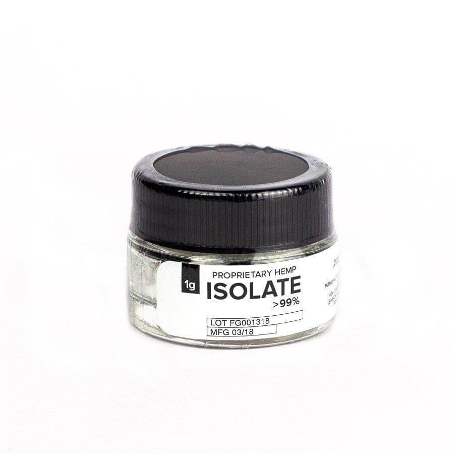 CBD Isolate 1g (96-99% CBD) | Hemp Extract