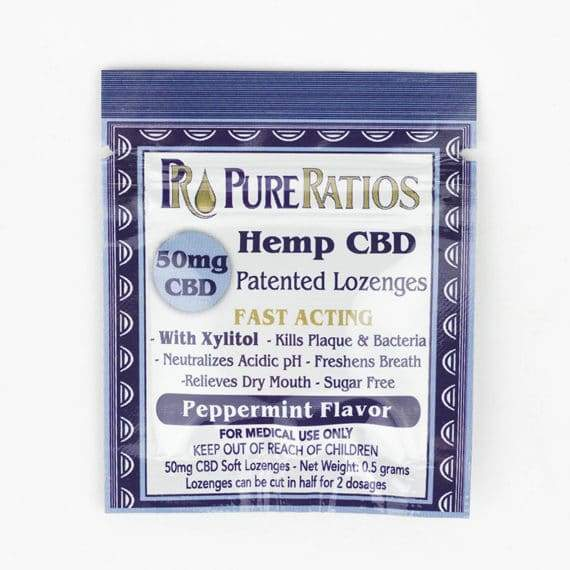 Pure Ratios – Hemp Lozenge (1 Piece / 50mg CBD)