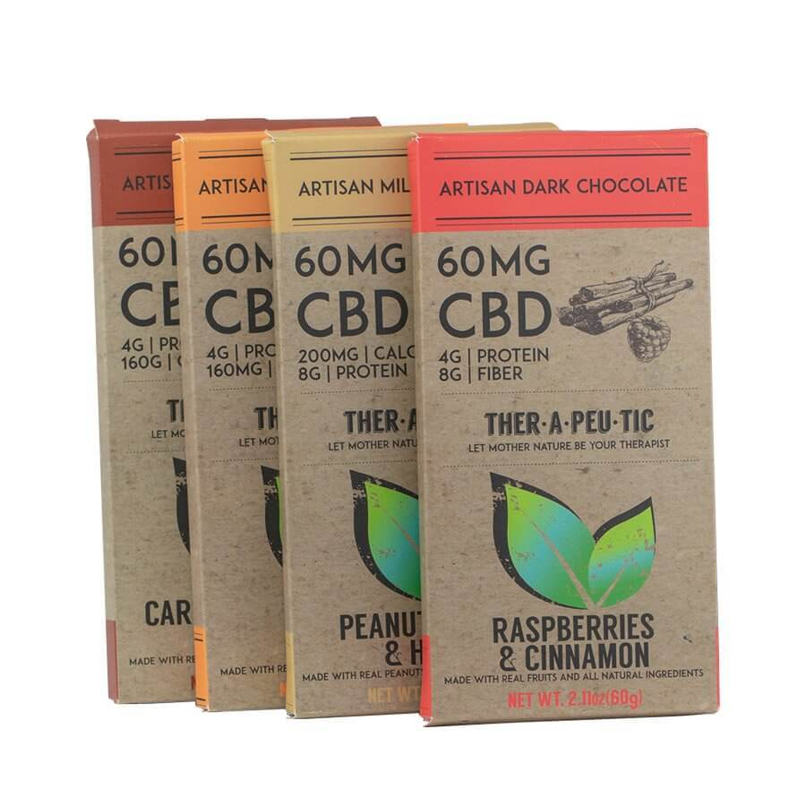 Therapeutic – CBD Chocolate (60-120mg CBD)