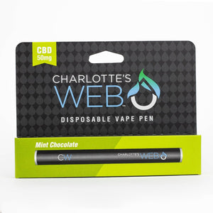 Charlotte's Web – Vape Kit Disposable Vaporizer (50mg CBD)