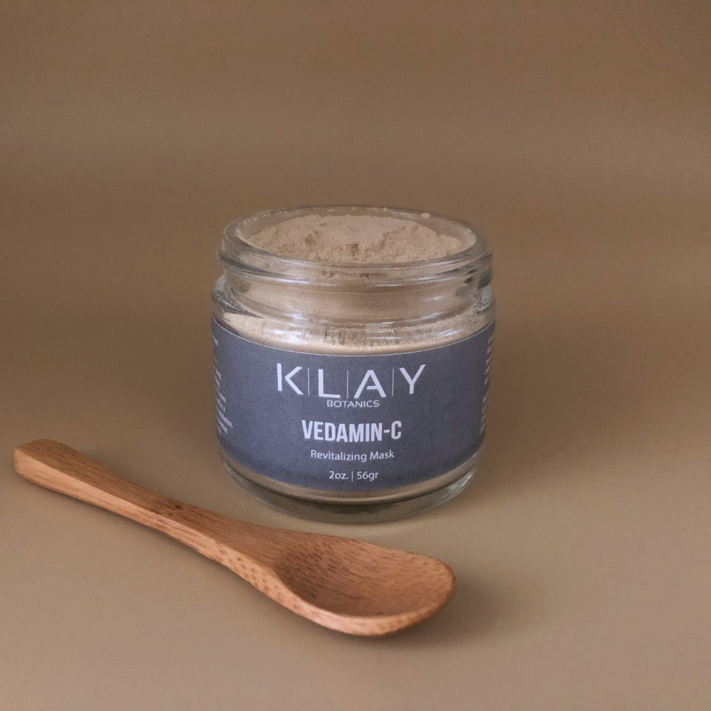 Load image into Gallery viewer, KLAY BOTANICS Vedamin-C Clay Mask