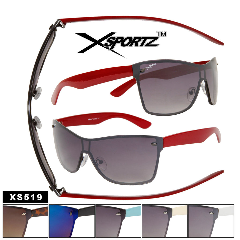 XSPORTZ XS519 Single Lens Sunglasses - Amanda's Sunglasses and More