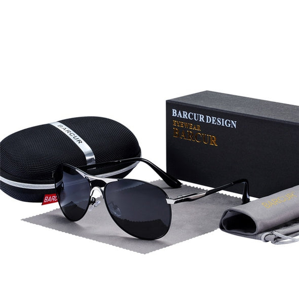 BARCUR Sunglasses Men Polarized Sunglasses - Amanda's Sunglasses and More